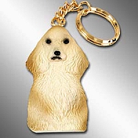 Cocker Spaniel Blonde Best Friends Key Chains