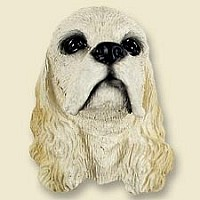 Cocker Spaniel Blonde Magnet
