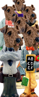 Airedale Doogie Characters