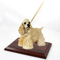 Cocker Spaniel Blonde Pen Set