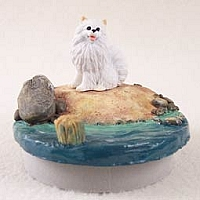 American Eskimo Miniature Candle Topper Tiny One