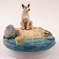 Australian Cattle Red Dog Candle Topper Tiny One