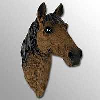 Red & Brown Horse Magnet