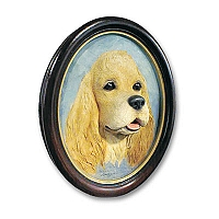 Cocker Spaniel Blonde Portrait