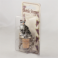 Bottle Stopper Cats