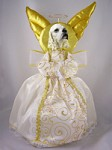 Cocker Spaniel Blonde Doogie Collection Angel Tree Topper